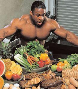 alimentazione body building